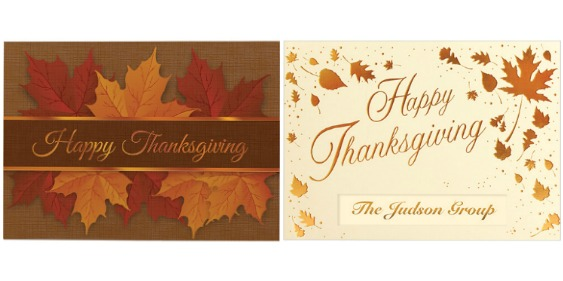 Stand Out With Custom Thanksgiving Cards - Promo Gift Blog