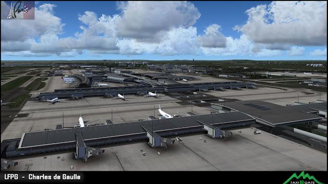Risultati immagini per TAXI2GATE - PARIS CHARLES DE GAULLE LFPG P3D (RIP)