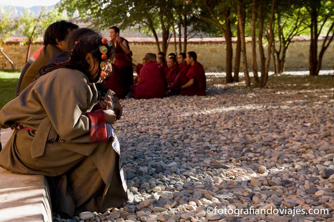 dialécticas budistas en Samye