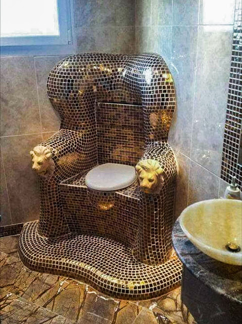 """Taking """"Porcelain Throne"""" To The Extreme"""