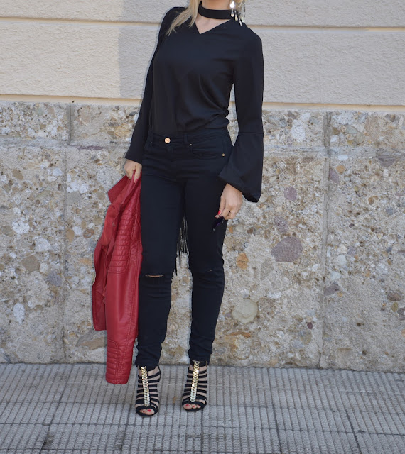 outfit nero come abbinare il nero abbinamenti nero black outfit how to wear black how to combine black black spring outfit outfit nero primaverile mariafelicia magno fashion blogger color block by felym