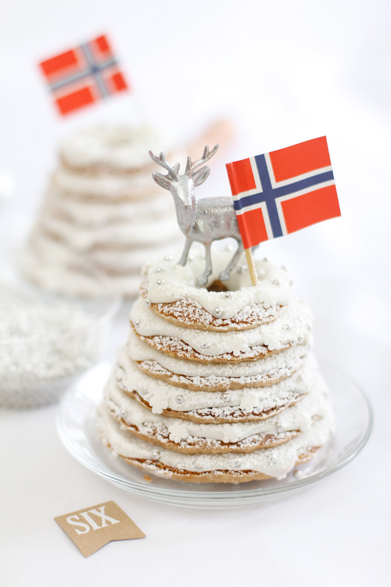 norwegian wedding cake tradition gift this kransekake sprinkle bakes 17932