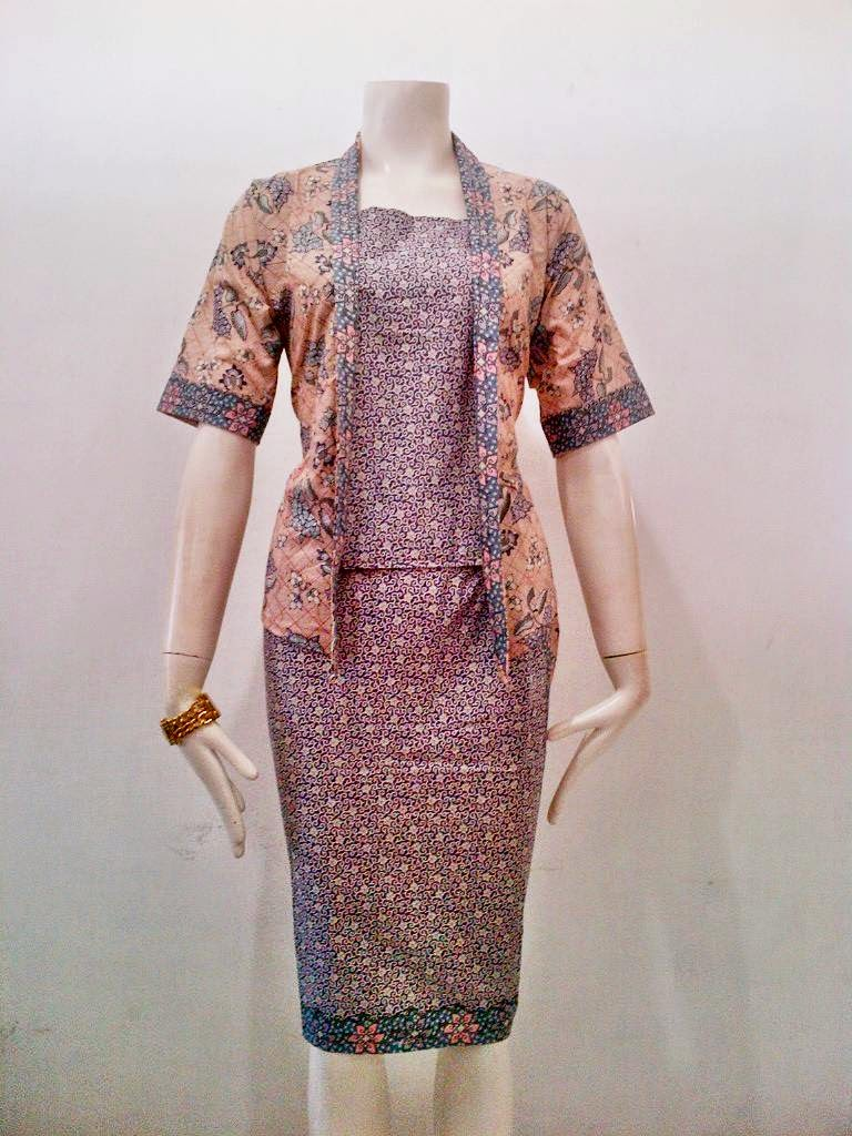 Model Baju Batik Terbaru RnB Nowela Series Batik Bagoes Solo