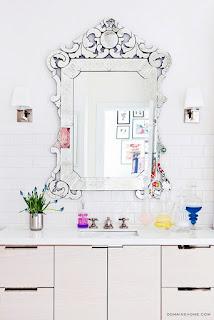 Come Fare Sembrare Più Elegante Un Bagno - Specchio