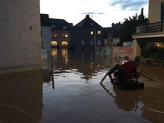 Hochwasser Prüm - Irrel