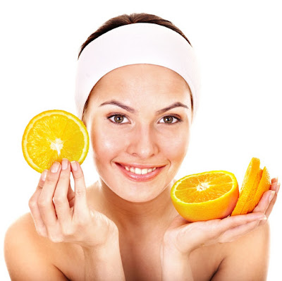 Orange for Skin Care orange peel or orange juice may be for your daily makeup materials.