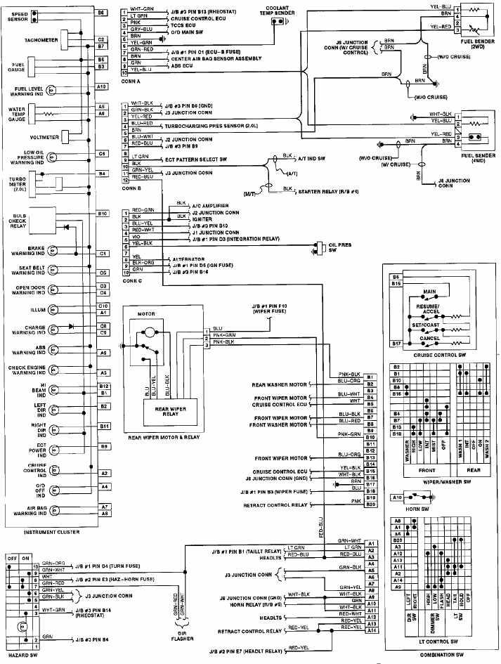 1992 Toyota celica wiring diagram