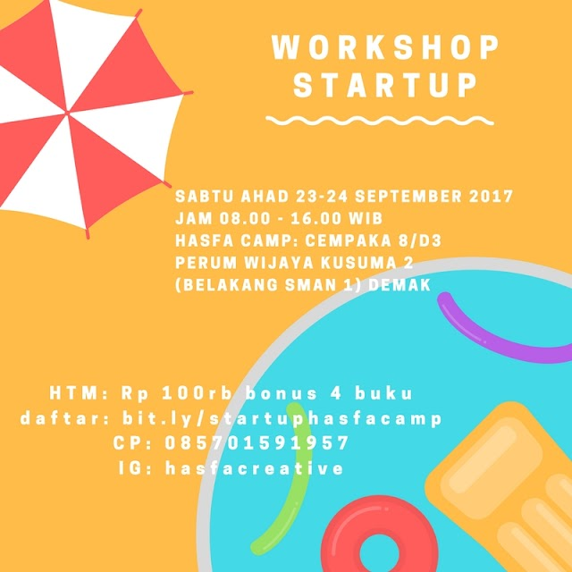 Workshop Start Up Di Hasfa Camp