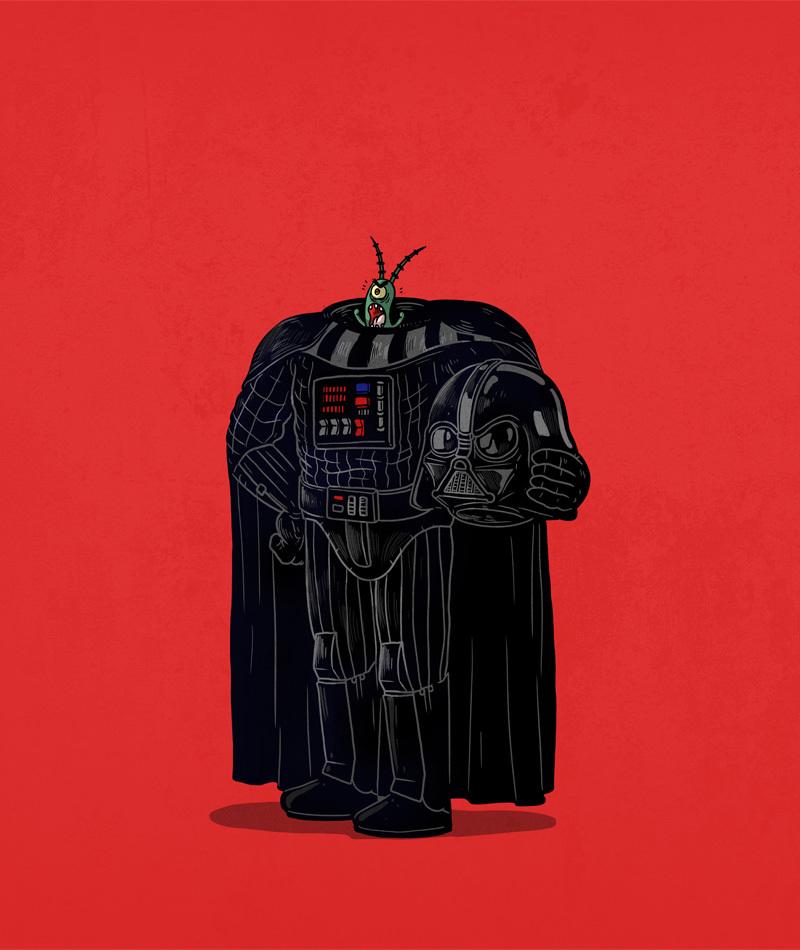 a mascara por tras dos personagens star wars - A máscara por trás dos seus personagens favoritos