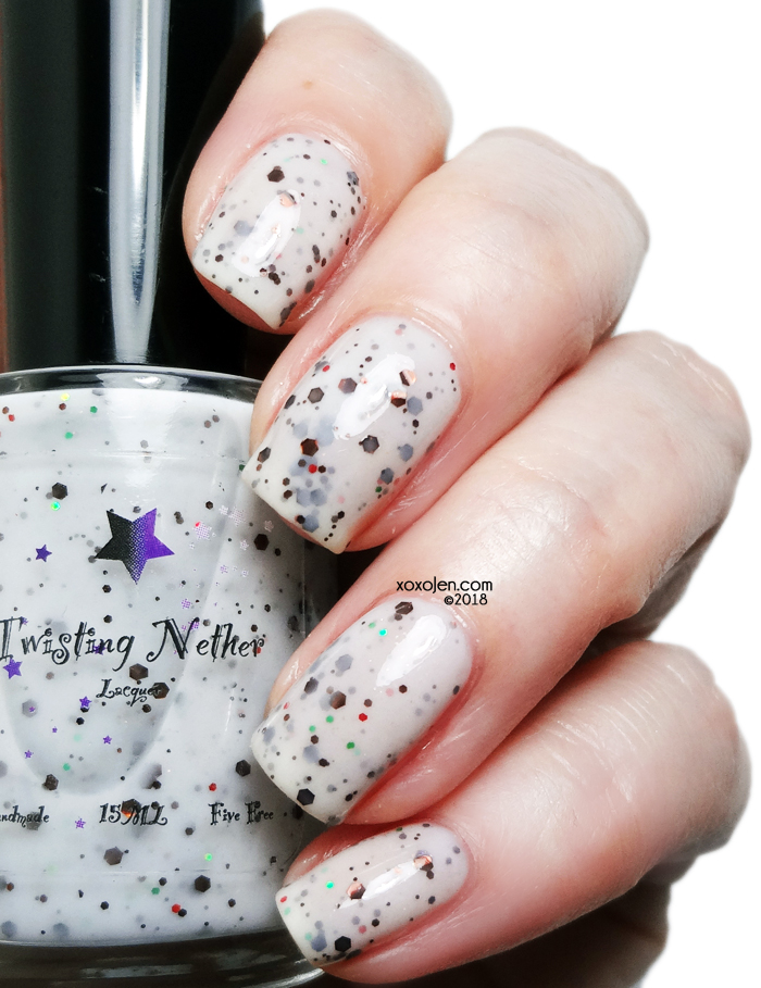 xoxoJen's swatch of Twisting Nether Milk and Cookies For Santa!