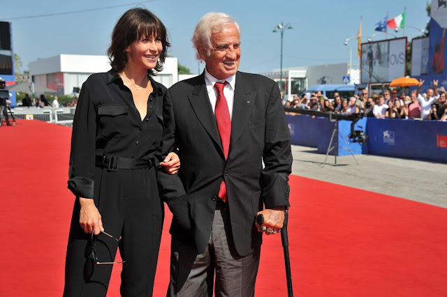 HQ Photos of French actress Sophie Marceau At Ggolden Lion For Jean Paul Belmond Awards At 73rd Venice Film Festival