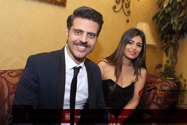"""وصول منة فضالي ومحمد أنور وطارق صبري مهرجان """"World Arts Day"""""""