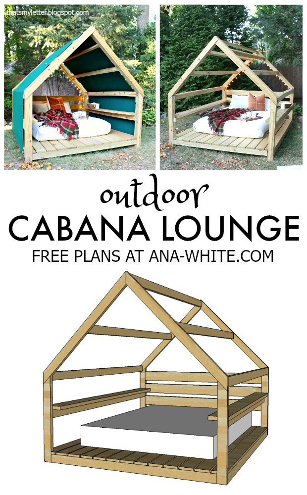 that 39 s my letter build an outdoor cabana lounge
