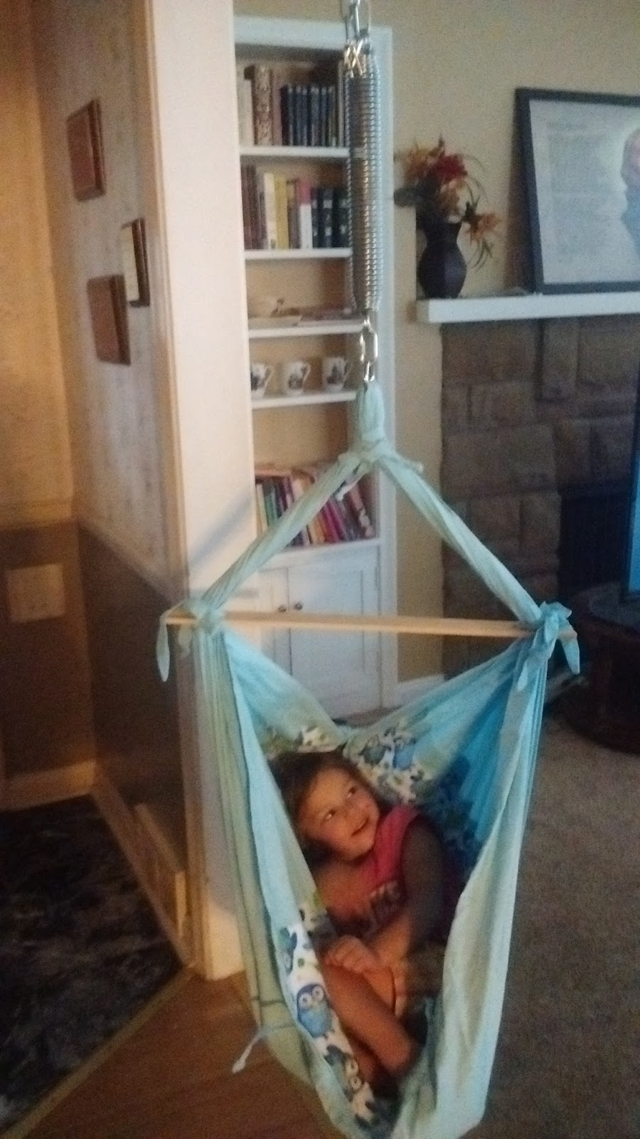 installation  some hammocks  e with frames  which take up a lot of space  but the special delivery baby hammock  es with a screw to screw into the     one catholic mama  trying something new   the special delivery      rh   onecatholicmama