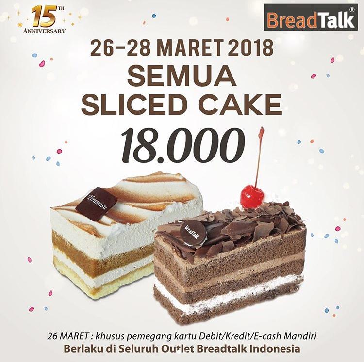Promo Ulang Tahun Breadtlak Ke 15 Semua Roti Rp 7500 26-28 Maret 2018