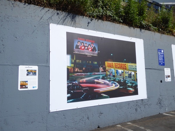 Rock n Roll Billboards Sunset Strip WEHO exhibition