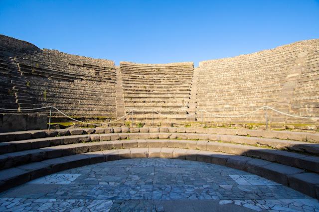 Teatro piccolo-Scavi di Pompei