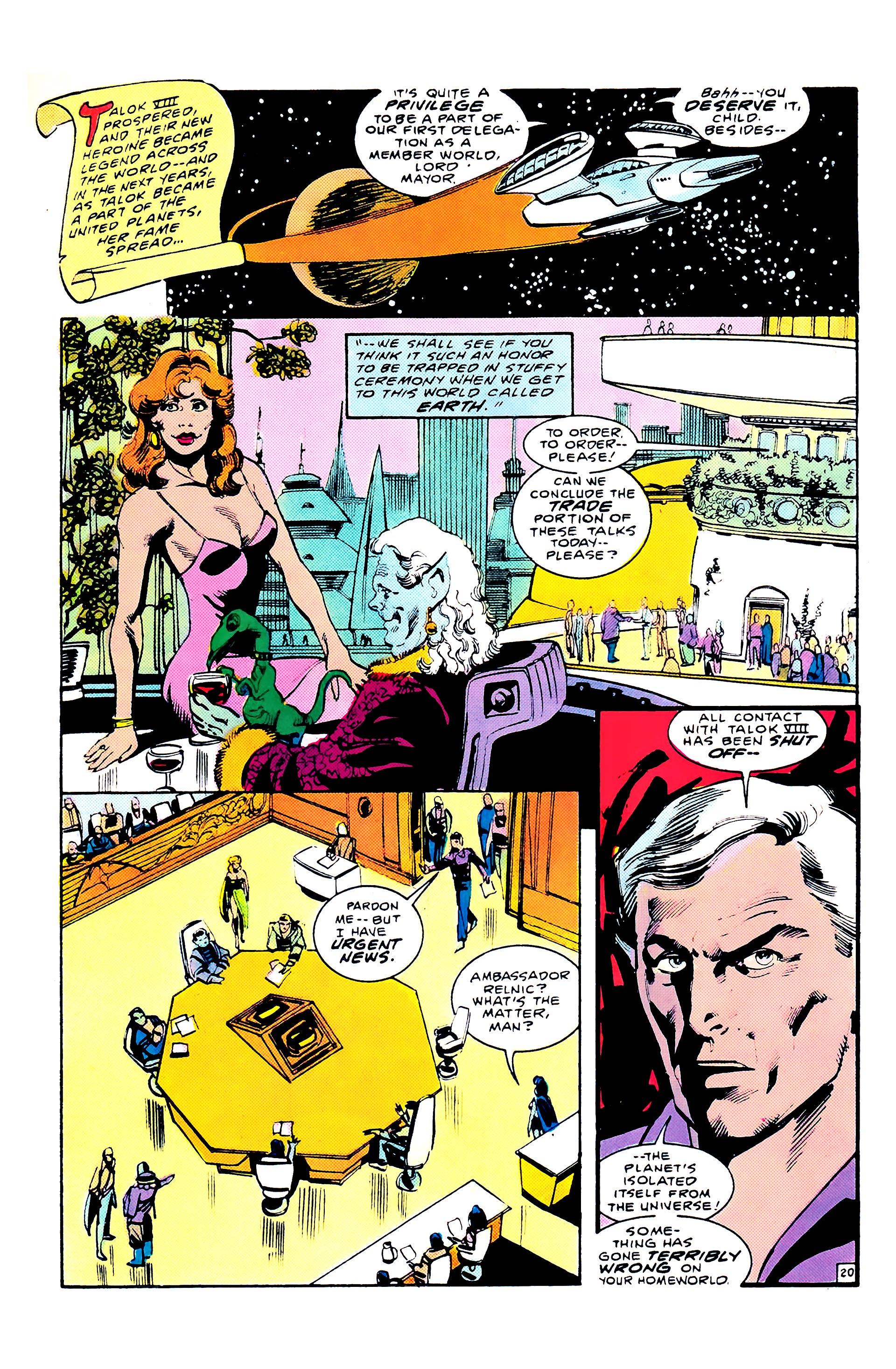 Read online Secret Origins (1986) comic -  Issue #8 - 26