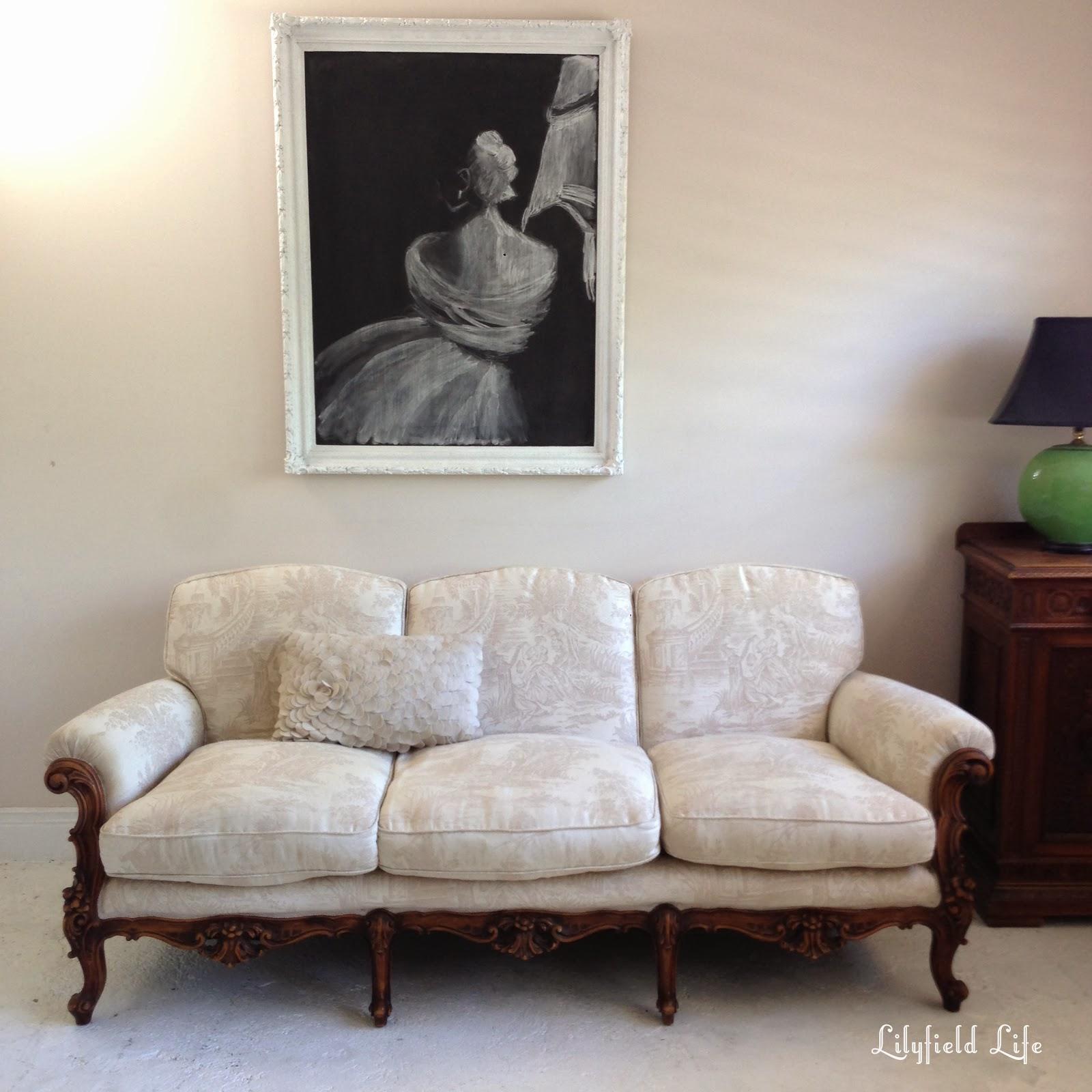 Lilyfield Life I scored a French sofa