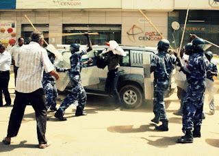 احتجاجات غلا الاسعار في السودان