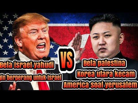 Bela Palestina, Korea Utara Kecam Amerika Soal Yerusalem