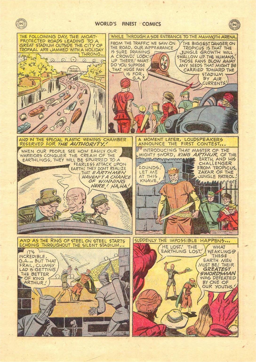 Read online World's Finest Comics comic -  Issue #52 - 47