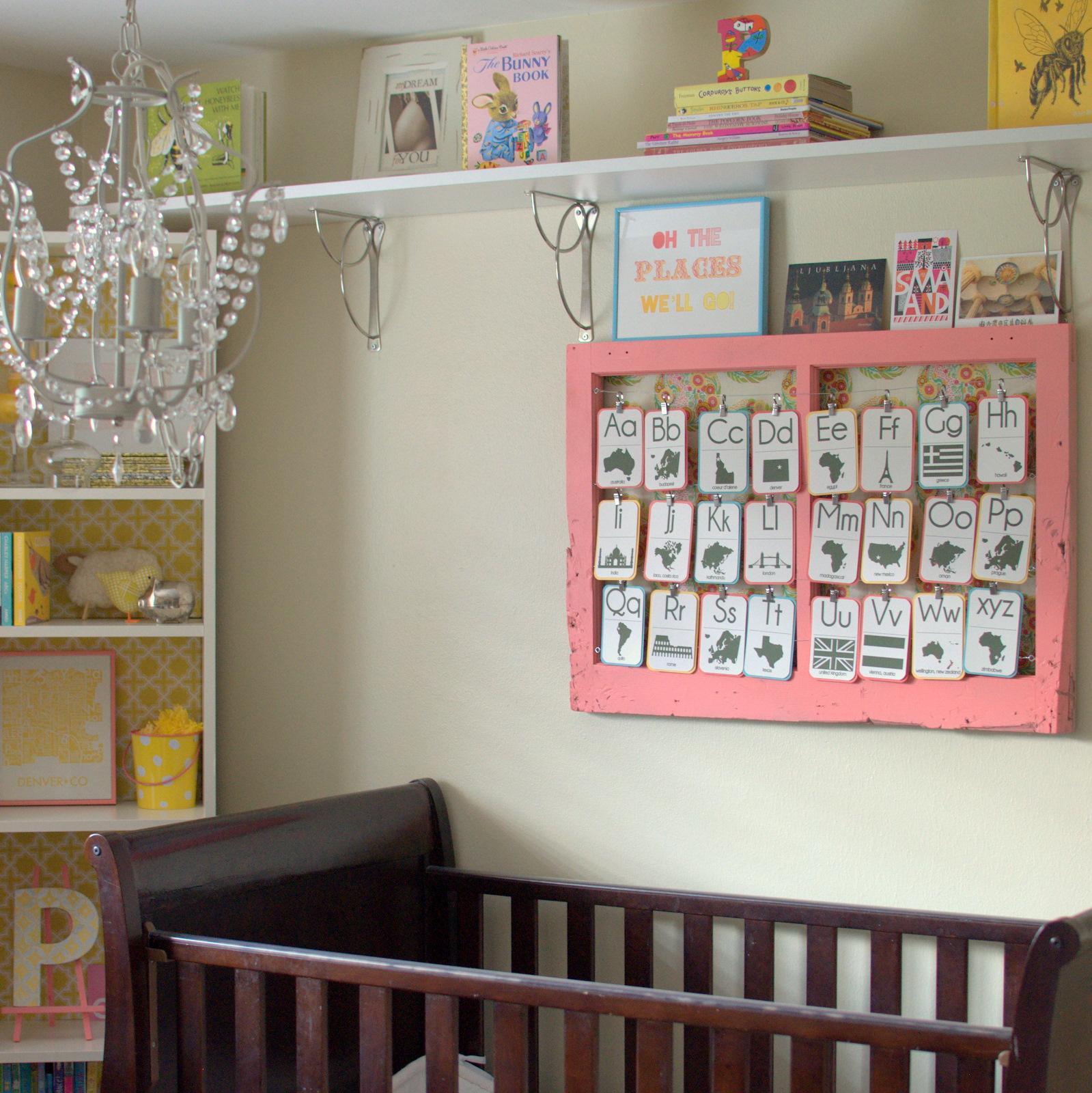 Nursery Decorating Ideas: DIY Nursery Decor Ideas