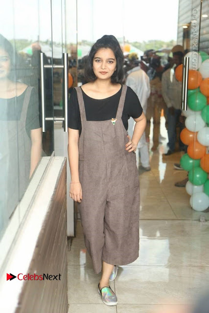 Swathi Reddy Pos in Jumpsuit at London Babulu Movie First Song Launch .COM 0001.jpg