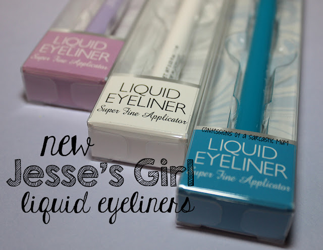 NEW! Jesse's Girl Liquid Eyeliners in bright, fun colors!