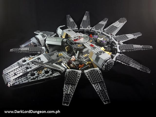 KO Star Wars Episode VII Lego Millennium Falcon