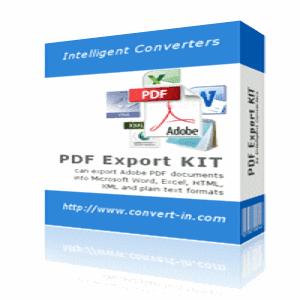 تحميل برنامج PDF EXPORT KIT مجاني لتحويل ملفات PDF الى صيغ اخرى