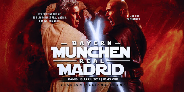 Bayern Munchen vs Real Madrid : Final Prematur