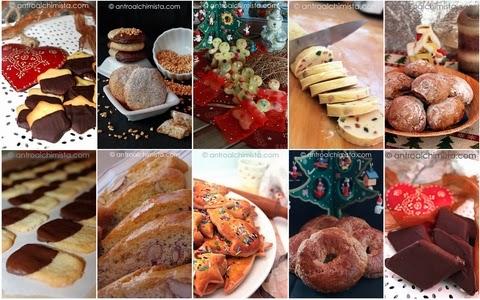 Raccolta di biscotti di Natale del blog L'Antro dell'Alchimista