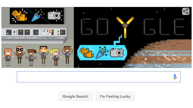 Google Doodle Juno