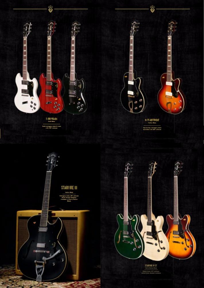 the unique guitar blog guild electric guitars. Black Bedroom Furniture Sets. Home Design Ideas