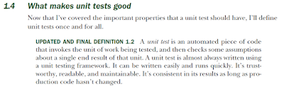 Unit test definition
