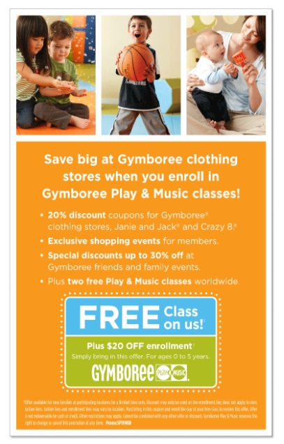 picture about Crazy 8 Coupons Printable titled Gymboree coupon codes printable canada - Beginning boot camp coupon
