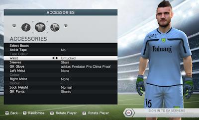 FIFA 14 Faces Andrea Seculin by Lagwagon93