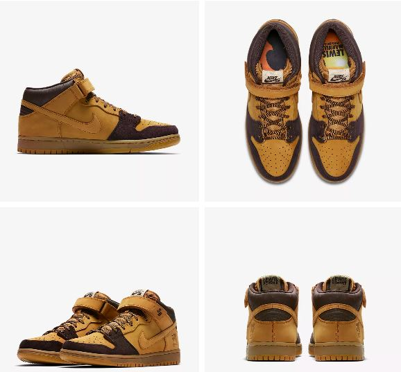new style 76f8e 31b07 Nike SB Dunk Mid Pro Lewis Marnell Forever | Skate Shoes PH ...