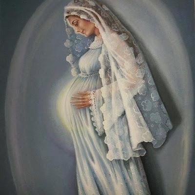 Resultado de imagem para nossa senhora gravida advento