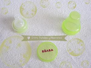 Tetina universal para botellines de agua