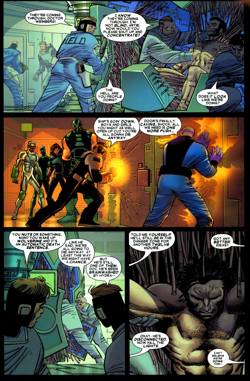 Read online Wolverine (2003) comic -  Issue #27 - 8