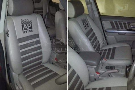 modifikasi jok grand vitara