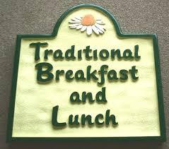 placas para restaurantes