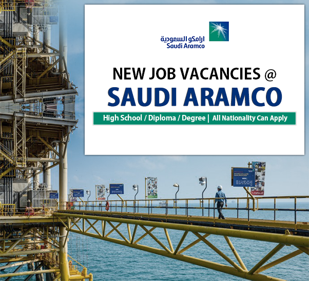 Jobs Center Dubai: Jobs At Saudi Aramco Oil Company - Saudi Arabia