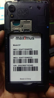 Maximus D7 MT6739 Android 8 1 Fast Boot Mode Hang Logo Dead Recovery