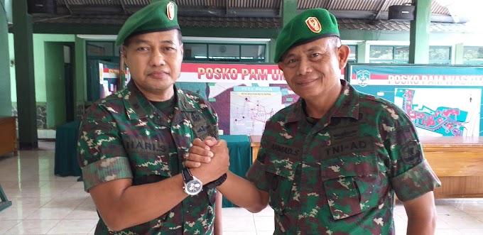 Mayor Kav Ahmad Sujana Jabat Danramil 06/Cimanggis
