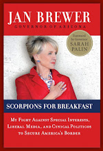 BUY GOV. JAN BREWER'S NEW BOOK - 'SCORPIONS FOR BREAKFAST'