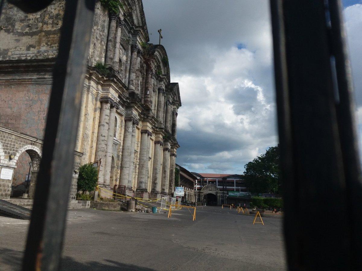 Basilica de San Martin de Tours in Taal