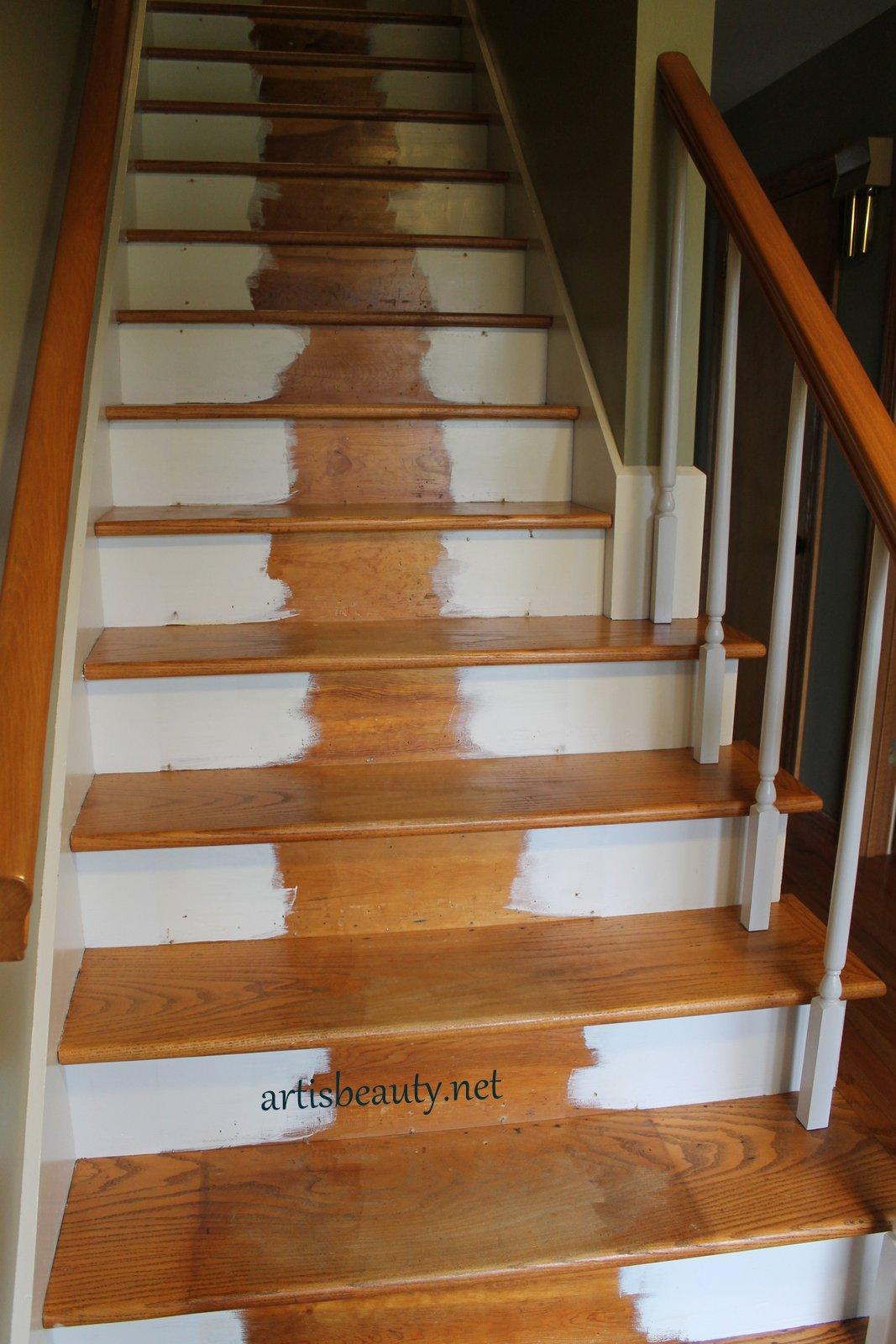 Art Is Beauty New Installed Carpet Stair Runner